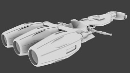 Corellian Destroyer Late Stage WIP
