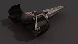 Sith Infiltrator: Textured