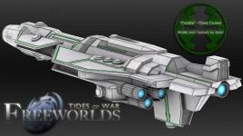 New Corellian Cruiser [Textured]