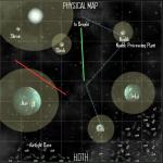 Hyperlanes Gravity Wells Visualization
