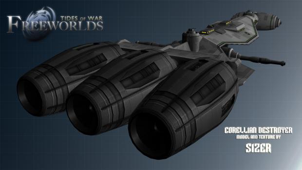 Corellian Destroyer Redux