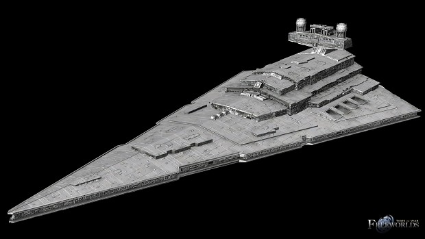 Imperial Star Destroyer Normal Map