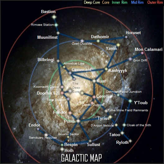 New Galaxy Map