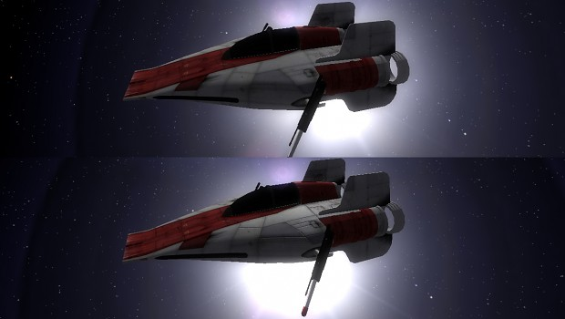 A-Wing Normal Maps