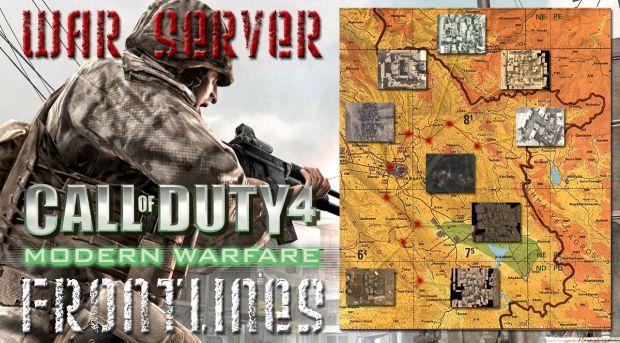 Frontlines 6.0 War Server - Random battlefields with up 3999 battles!