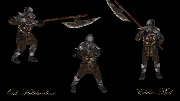 Orc Halberdiers