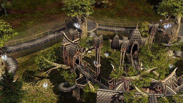 Buildings of Lothlórien