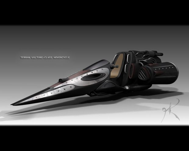Vulture-Class Hovercycle