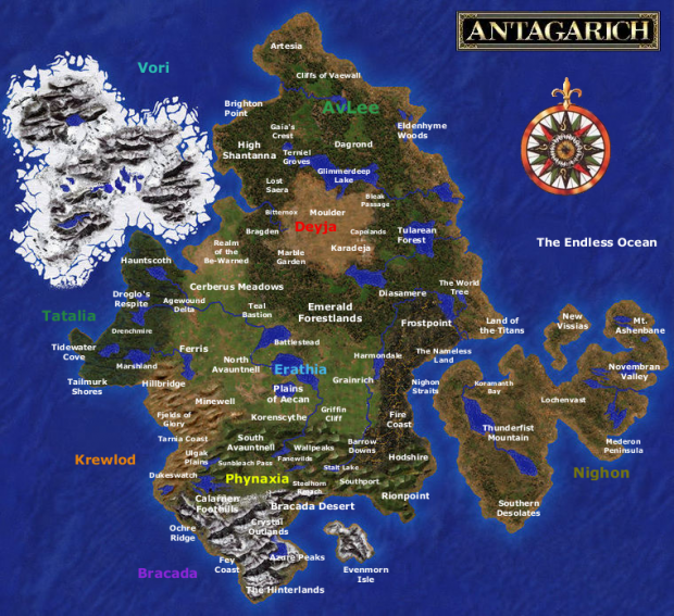Might & Magic Warlords Full Map
