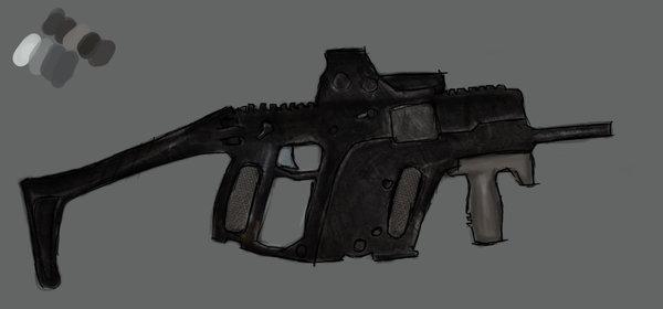 Concept KRISS SMG