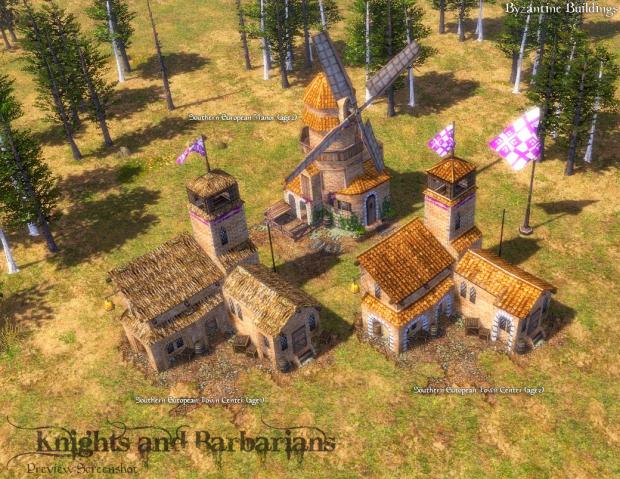 Byzantine Buildings