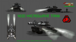 Nod Microwave Tank for the Black Hand Subfaction