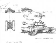 Westwood Studios Microwave Tank Concept Art