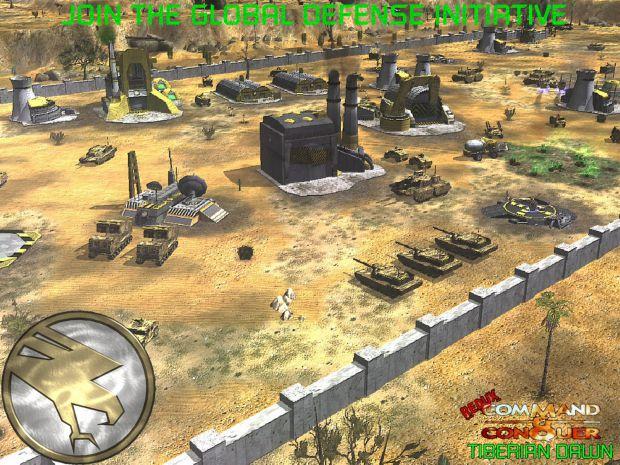 The Global Defense Initiative (desktop wallpaper) image - C&C ...