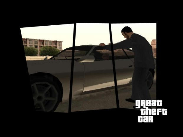 Great Theft Car First Screens