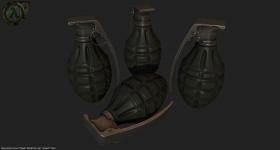 OF2 - MKII Hand Grenade