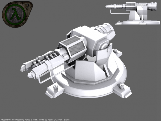 OF2 - GAUSS-2 Cannon (RENDER)
