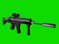FN SCAR-L Silenced