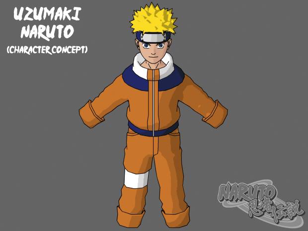 Uzumaki Naruto RC 2.0 - body W.I.P.