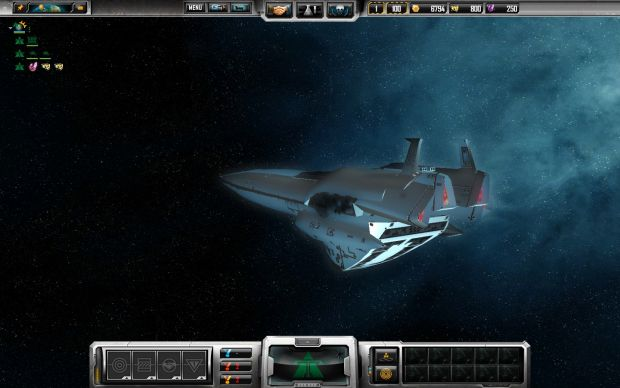 The Bruenhild. Imperial supreme flagship.
