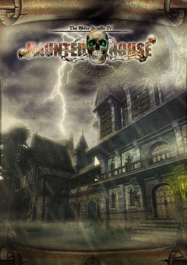 Haunted House poster (front of the haunted house)