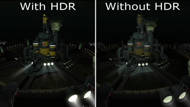 HDR y no HDR