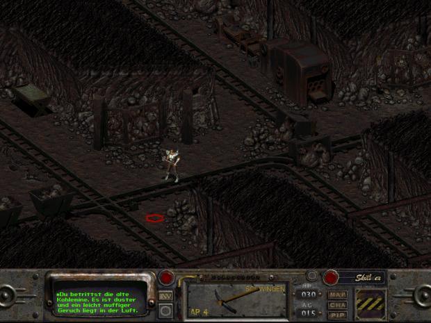 Coal Mine interior