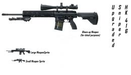 HK 416 Sniper Upgrade