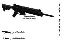 AR-57 Sprites