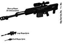 New Rifle AI AS50