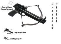 Crossbow Pistol Sprites