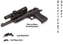Desert Eagle Upgraded (Sniper)