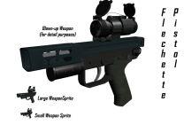 Flechette pistol