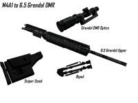 M4A1 to the 6.5 Grendel DMR