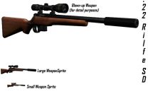 .22 Silenced Bolt Action Rifle