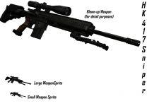 HK 417 Sniper