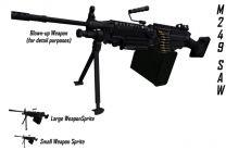 M249 SAW New Sprite