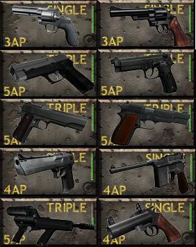 Final Pistol Sprites