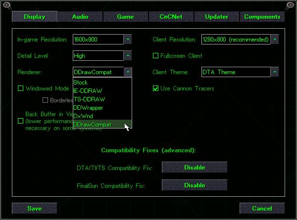 New Renderer: DDrawCompat