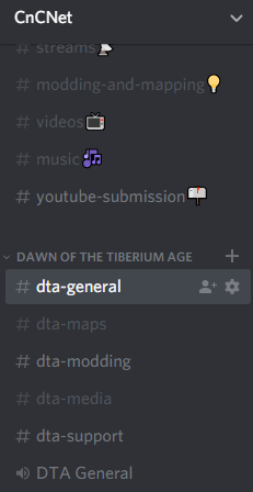 DTA's Official Discord Channel