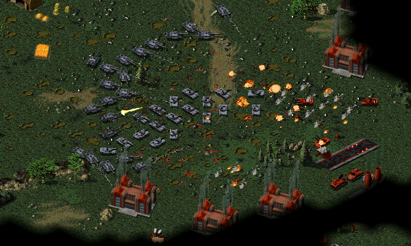 Allied Tank Attack