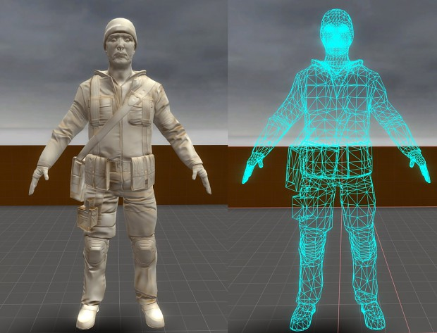 Resistance Normal/Wireframe