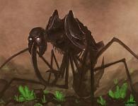 Promotional Sketch: Tiberium Crawler