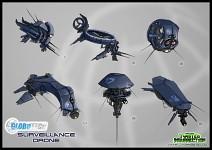 Concept: GloboTech Surveillance Drone