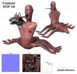 Justins Latest Centaur WIP