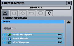 Upgrades Progress