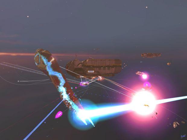 DOL Battleship Firing