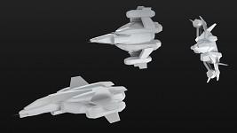 Sabre Starfighter [Render]