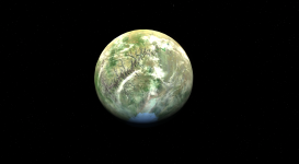 New Arid Planet Texture