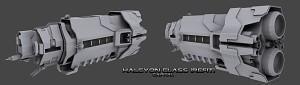 Halcyon-Class Refit